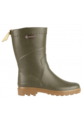 brand new de836 0a1ea Aigle Regenstiefel Bison kaki