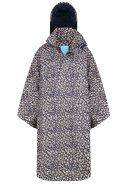 Blau / beiger  Bike Cape Mara Cheetah von Happy Rainy Days
