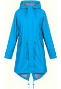 Blaue Damenregenjacke Travel Friese Fisher GD von Derbe