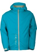 Neonblaue Kinder Regenjacke Flashy von Pro-X Elements