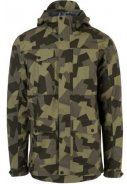 Camouflage Urban Outdoor pocket Herrenregenjacke von AGU