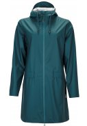 Dark Teal Damenregenjacke W Coat von Rains