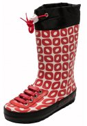 Ducksday Kinderregenstiefel Funky Red