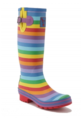 Evercreatures Regenstiefel Rainbow