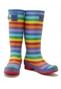 Evercreatures Regenstiefel Rainbow  3