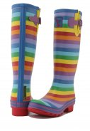 Evercreatures Regenstiefel Rainbow  2