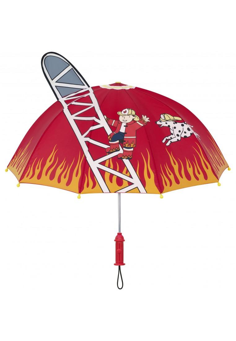 kidorable regenschirm feuerwehrmann  kinderregenbekleidung