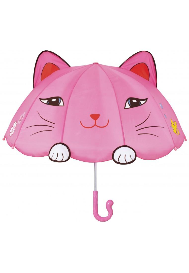 kidorable regenschirm katze  kinderregenbekleidung