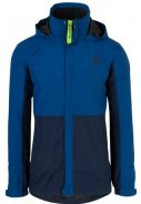 Navy/blaue Herrenregenjacke Section von Agu