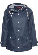 Navy Damenregenjacke Peninsula Fisher von Derbe