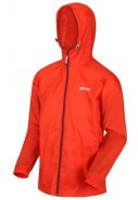Orange (Burnt Salmon) Herrenregenjacke Pack It III von Regatta