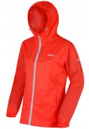 Neon Peach Damenregenjacke Pack It III von Regatta