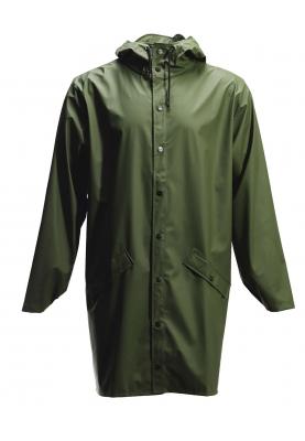 Grüne lange Regenjacke von Rains (Long Jacket) (Maat L XL, M L, XS S ... a505de64df