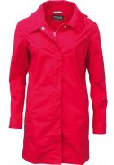Rote PolyCotton Damenregenjacke Candy von Pro-X Elements