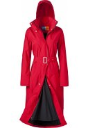 "Roter Regenmantel  Modell ""Rosa""  (Long Raincoat) von Happy Rainy Days"