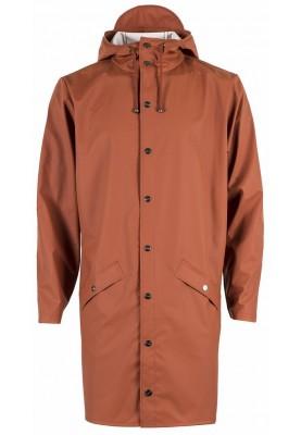 Orange braune (Rost) lange Regenjacke von Rains e776e9d386