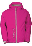 Neonrosa Kinder Regenjacke Flashy von Pro-X Elements