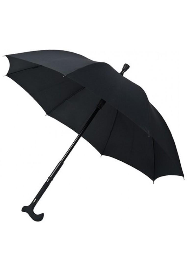 schwarzer spazierstock regenschirm von falcone  regenschirme